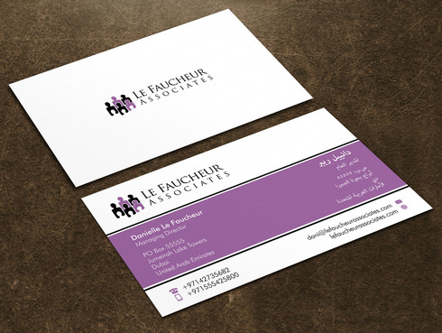 Le Faucheur Associates  Business Cards and Stationery  Draft # 117 by Xpert