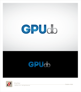 GPUdb  A Logo, Monogram, or Icon  Draft # 1469 by BigStar