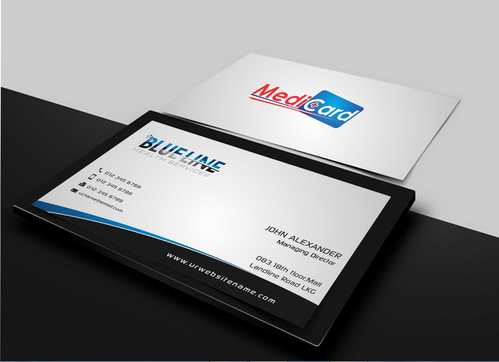 A digital Initiative Business Cards and Stationery  Draft # 4 by Dawson