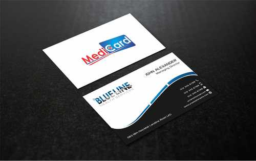 A digital Initiative Business Cards and Stationery  Draft # 40 by Dawson
