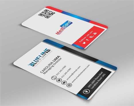 A digital Initiative Business Cards and Stationery  Draft # 48 by Dawson