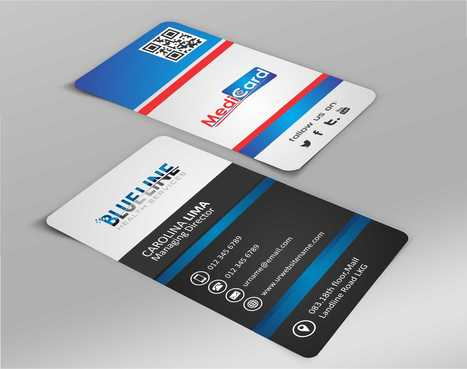 A digital Initiative Business Cards and Stationery  Draft # 50 by Dawson