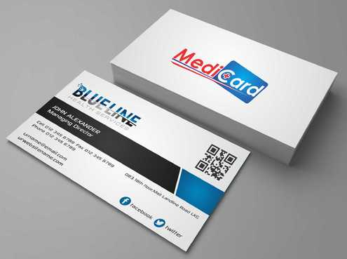 A digital Initiative Business Cards and Stationery  Draft # 56 by Dawson