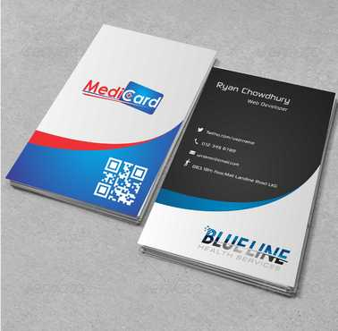 A digital Initiative Business Cards and Stationery  Draft # 57 by Dawson
