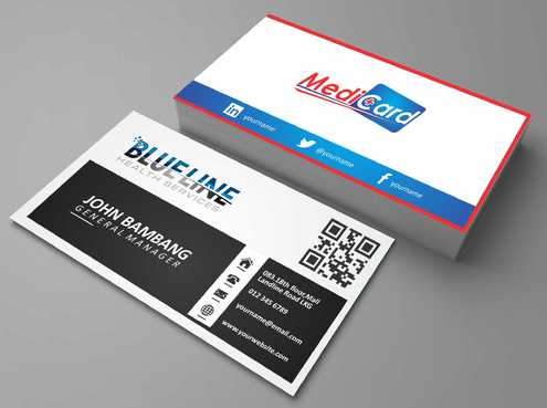 A digital Initiative Business Cards and Stationery  Draft # 65 by Dawson