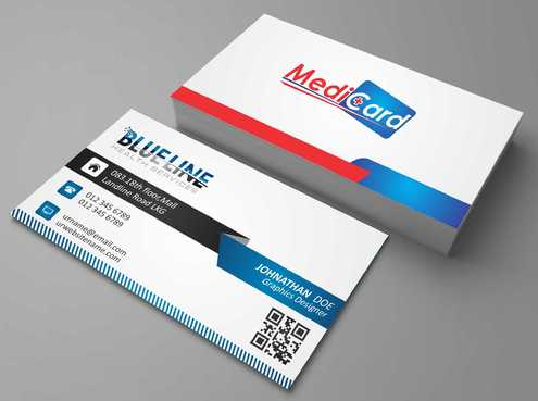 A digital Initiative Business Cards and Stationery  Draft # 68 by Dawson