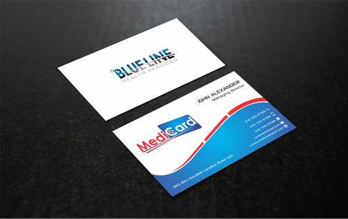 A digital Initiative Business Cards and Stationery  Draft # 168 by Dawson