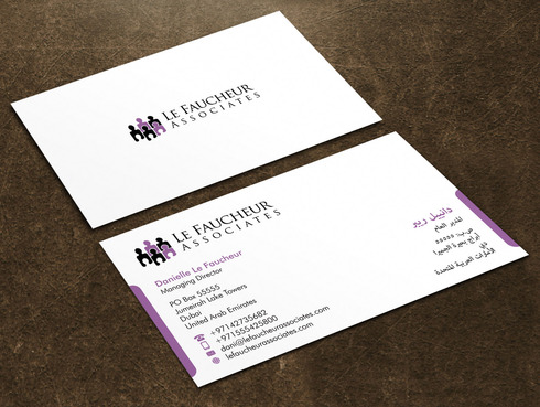 Le Faucheur Associates  Business Cards and Stationery  Draft # 124 by Xpert