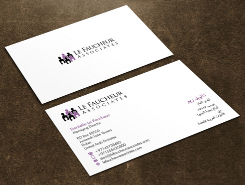 Le Faucheur Associates  Business Cards and Stationery  Draft # 125 by Xpert
