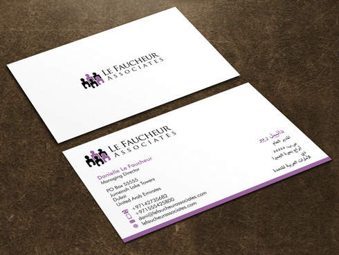 Le Faucheur Associates  Business Cards and Stationery  Draft # 126 by Xpert