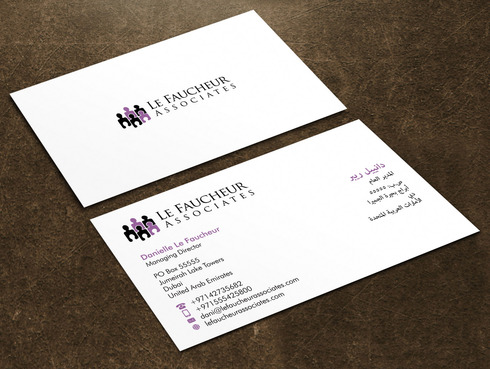 Le Faucheur Associates  Business Cards and Stationery  Draft # 127 by Xpert