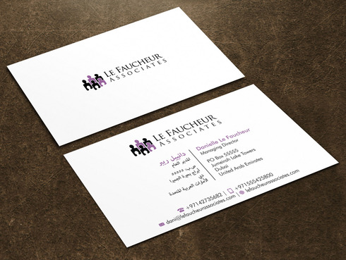 Le Faucheur Associates  Business Cards and Stationery  Draft # 129 by Xpert
