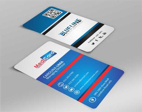 A digital Initiative Business Cards and Stationery  Draft # 174 by Dawson