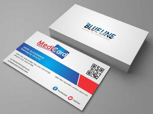 A digital Initiative Business Cards and Stationery  Draft # 182 by Dawson