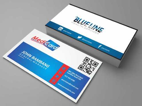 A digital Initiative Business Cards and Stationery  Draft # 203 by Dawson