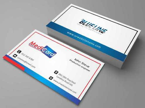 A digital Initiative Business Cards and Stationery  Draft # 208 by Dawson