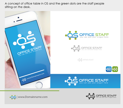 Office Staff A Logo, Monogram, or Icon  Draft # 68 by sevensky