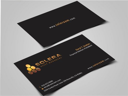 Solera Asset Managers, LLC Business Cards and Stationery  Draft # 254 by Dawson