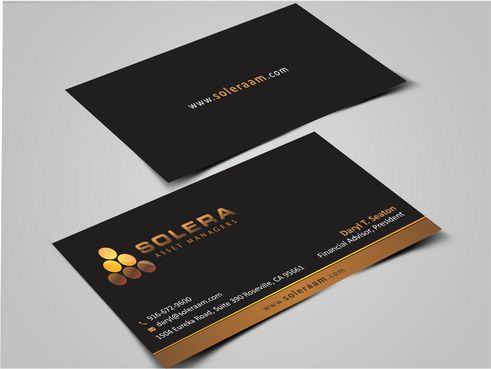 Solera Asset Managers, LLC Business Cards and Stationery  Draft # 258 by Dawson
