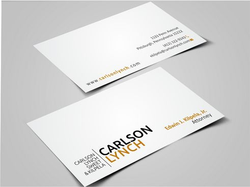 Modern and Professional Business Cards and Stationery  Draft # 348 by Dawson