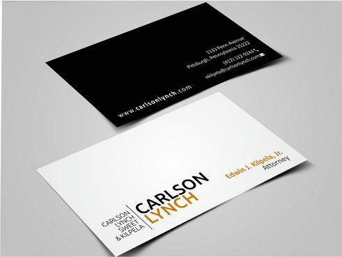 Modern and Professional Business Cards and Stationery  Draft # 350 by Dawson