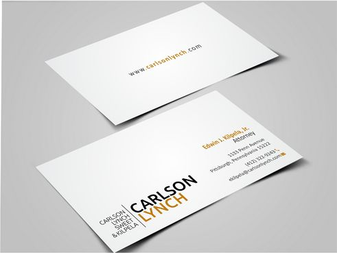 Modern and Professional Business Cards and Stationery  Draft # 351 by Dawson