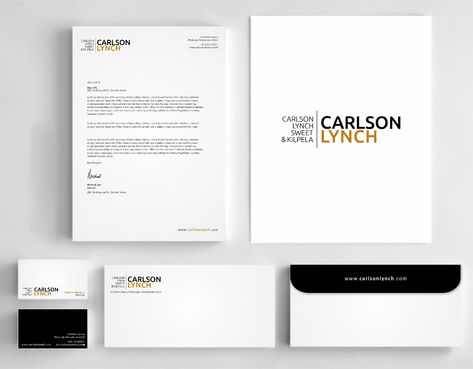 Modern and Professional Business Cards and Stationery  Draft # 352 by Dawson