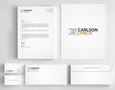 Modern and Professional Business Cards and Stationery  Draft # 354 by Dawson