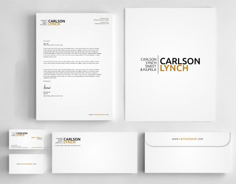 Modern and Professional Business Cards and Stationery  Draft # 356 by Dawson