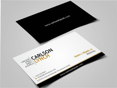 Modern and Professional Business Cards and Stationery  Draft # 357 by Dawson