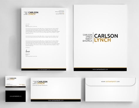 Modern and Professional Business Cards and Stationery  Draft # 358 by Dawson