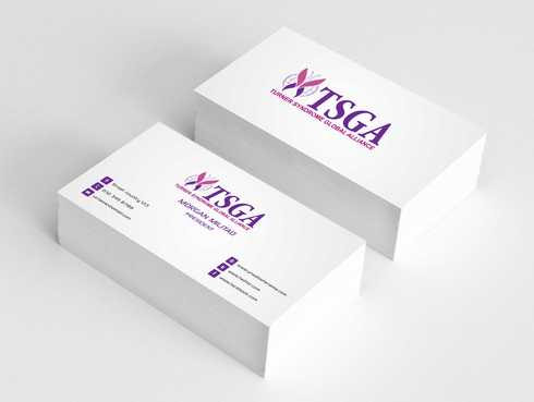 Turner Syndrome Global Alliance Business Cards and Stationery  Draft # 209 by Dawson