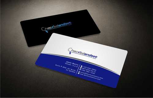 checkedandset.net Business Cards and Stationery  Draft # 167 by Dawson