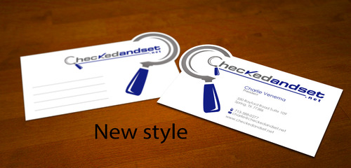 checkedandset.net Business Cards and Stationery  Draft # 264 by sevensky
