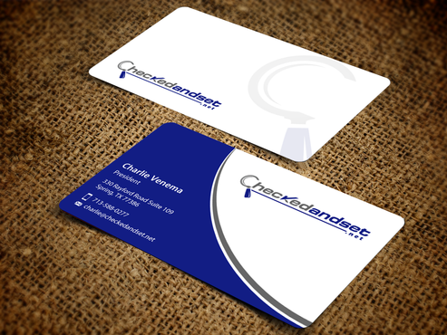 checkedandset.net Business Cards and Stationery  Draft # 265 by einsanimation