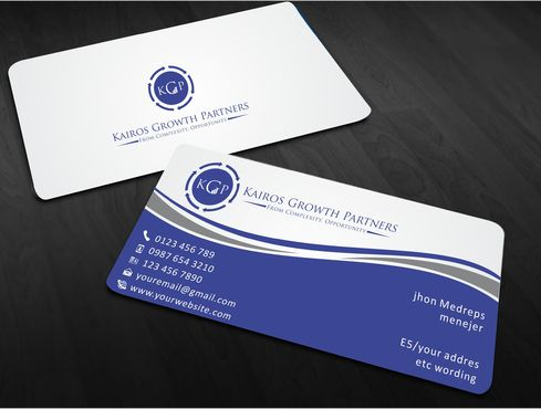 Kairos Growth Partners From Complexity: Opportunity Business Cards and Stationery  Draft # 173 by Sahoo