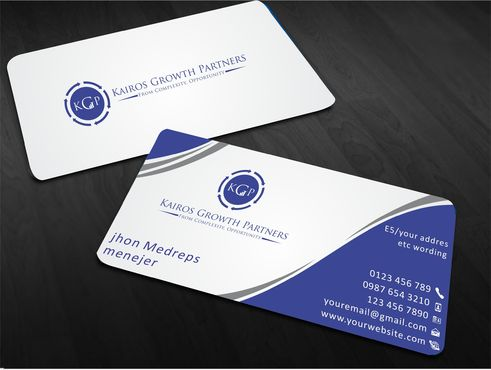 Kairos Growth Partners From Complexity: Opportunity Business Cards and Stationery  Draft # 174 by Sahoo