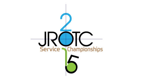 2015 JROTC Service Championships A Logo, Monogram, or Icon  Draft # 1 by ActionReplay