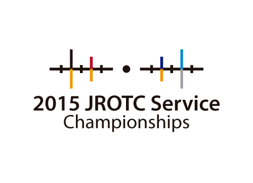 2015 JROTC Service Championships A Logo, Monogram, or Icon  Draft # 2 by tunaman