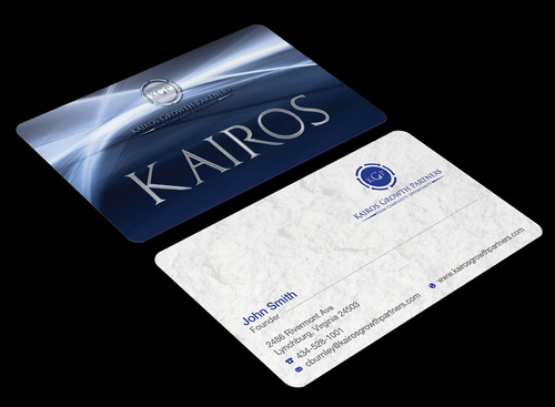 Kairos Growth Partners From Complexity: Opportunity Business Cards and Stationery  Draft # 179 by waterdropdesign