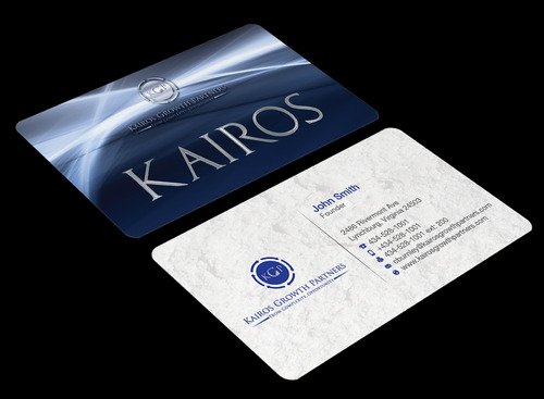 Kairos Growth Partners From Complexity: Opportunity Business Cards and Stationery  Draft # 182 by waterdropdesign