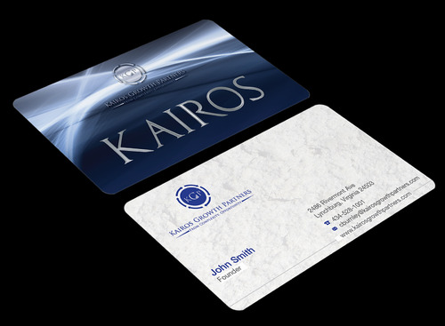 Kairos Growth Partners From Complexity: Opportunity Business Cards and Stationery  Draft # 184 by waterdropdesign