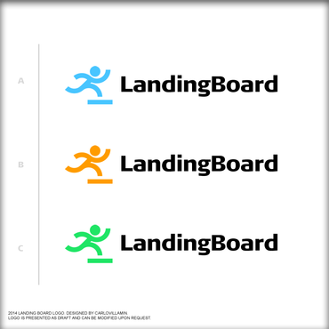 Landing Board Logo Winning Design by carlovillamin