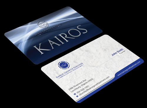 Kairos Growth Partners From Complexity: Opportunity Business Cards and Stationery  Draft # 188 by waterdropdesign