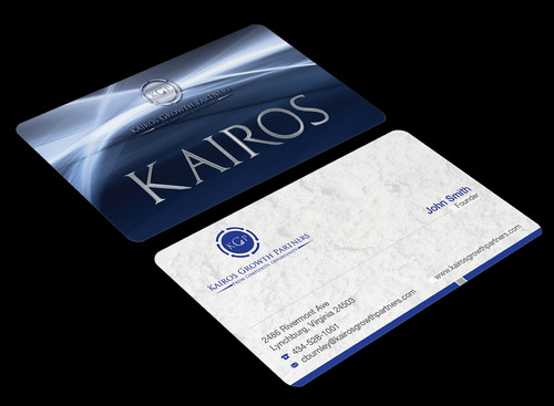 Kairos Growth Partners From Complexity: Opportunity Business Cards and Stationery  Draft # 189 by waterdropdesign
