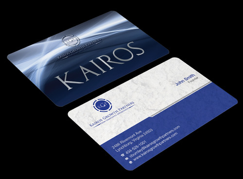 Kairos Growth Partners From Complexity: Opportunity Business Cards and Stationery  Draft # 191 by waterdropdesign
