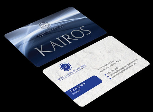 Kairos Growth Partners From Complexity: Opportunity Business Cards and Stationery  Draft # 192 by waterdropdesign