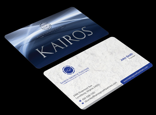 Kairos Growth Partners From Complexity: Opportunity Business Cards and Stationery  Draft # 194 by waterdropdesign