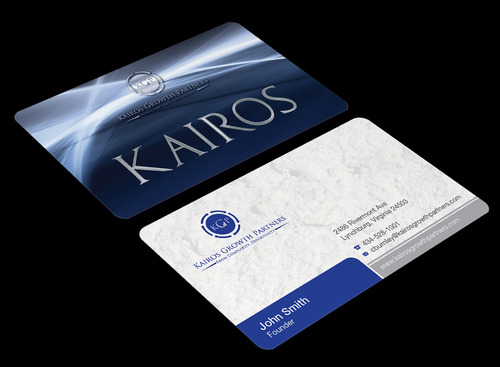 Kairos Growth Partners From Complexity: Opportunity Business Cards and Stationery  Draft # 196 by waterdropdesign