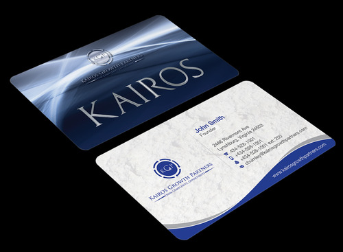 Kairos Growth Partners From Complexity: Opportunity Business Cards and Stationery  Draft # 197 by waterdropdesign